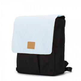 My Bag's Reflap Maternity Backpack - Black & Blue