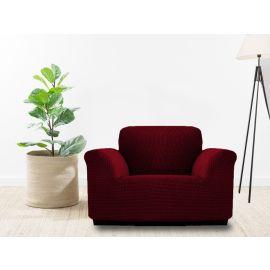 غطاء صوفا بمقعد واحد من ARMN Milos - أحمر