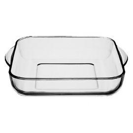 Borcam Glass Square Oven Tray - 28 x 28 cm