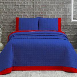 ARMN Marie Claire 3-Piece Double Bedspread Set - Navy