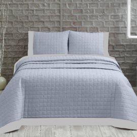 ARMN Marie Claire 3-Piece Double Bedspread Set - Light Blue