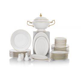 Schafer Moderna 60-Piece Dinner Set - Gold