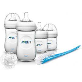 طقم الرضاعة لحديثي الولادة من Philips Avent - شفاف