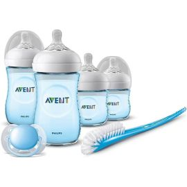 طقم الرضاعة لحديثي الولادة من Philips Avent - أزرق