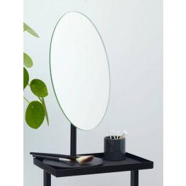 Aquanova Vega Stand Mirror - Black