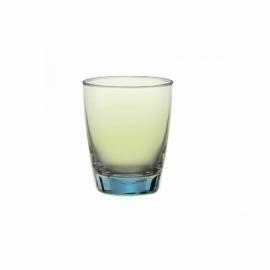 طقم أكواب زجاج قطعتين من Ocean Amber Reflection - سعة 365 مل