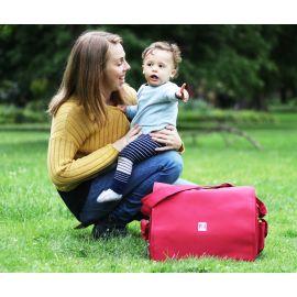 حقيبة أمومة من Ryco Deluxe - أحمر