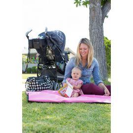 حقيبة أمومة من RYCO Sienna - أسود وأبيض