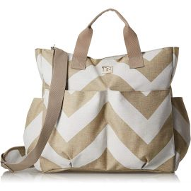 حقيبة أمومة من RYCO Sorrento - أبيض وكريمي