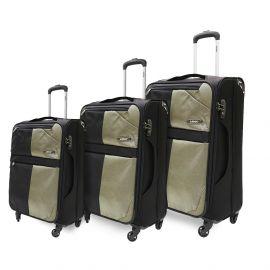 طقم من 3 حقائب سفر من ARMN Flexis - بني